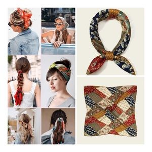 Accessories - 2/$24 🎉JUST IN! Floral Patchwork Scarf